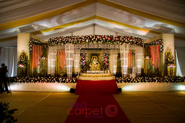 Hindu wedding by Red Carpet Weddings