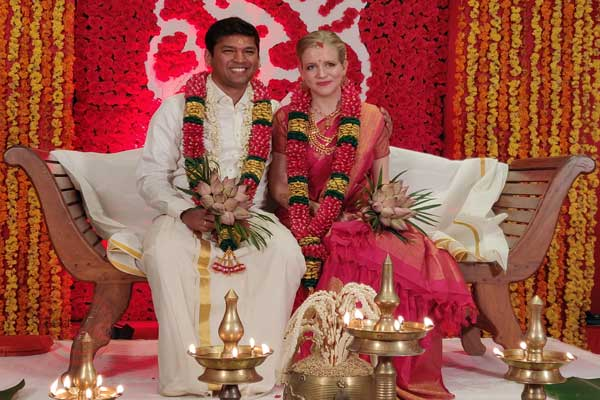 The best interracial destination wedding marriage planner kerala India. Red carpet weddings